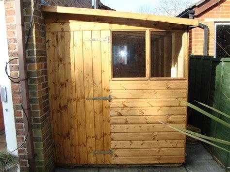 timber lean  extension exterior doors garden office