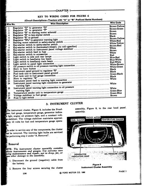 ford 3000 sel tractor wiring diagram ford free engine