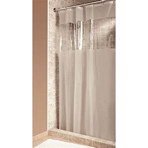 Interdesign Hitchcock Shower Curtain Stall 54 X 78 Clear Clear Shower Curtain With Design