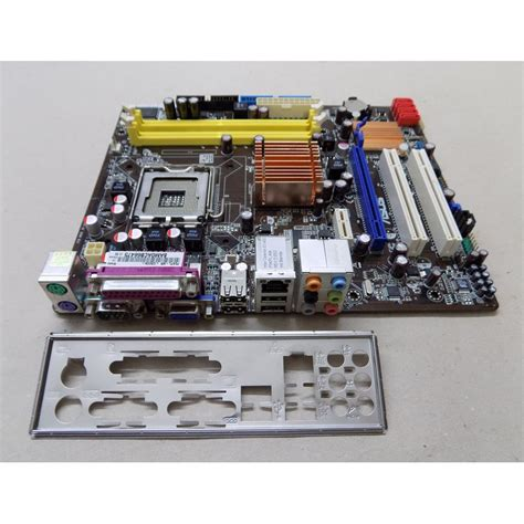 Mainboard Sockel 775 by Mainboard Asus P5kpl Am Sockel 775 Ddr2 Sata Pci E Matx Blende A05