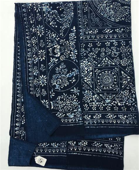 batik design in china asian indigo batik fabric vintage chinese batik bedcover