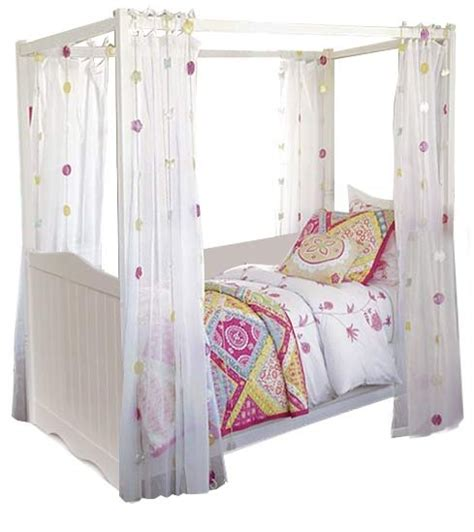 little girls canopy beds little girl canopy bed kiddo pinterest