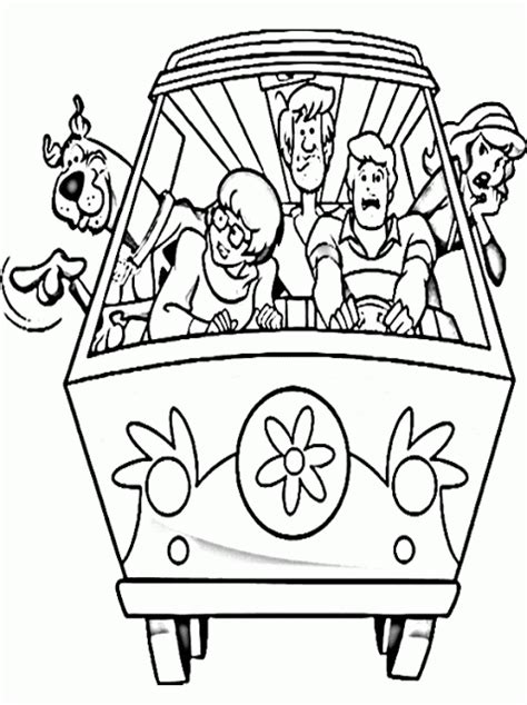 Kids Page: Printable Scooby Doo Coloring Pages