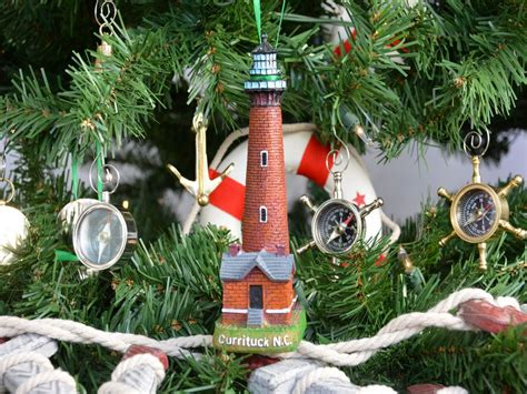 oak island christmas ornament wholesale currituck lighthouse decoration tree ornament decor