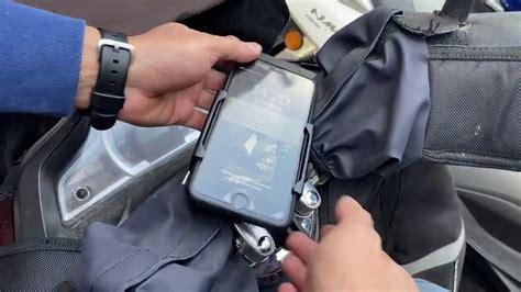honda pcx telefon tutucu montajimiz bilen motosiklet