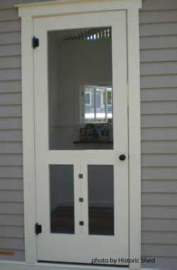 Handmade Screen Doors - custom screen door n e s t