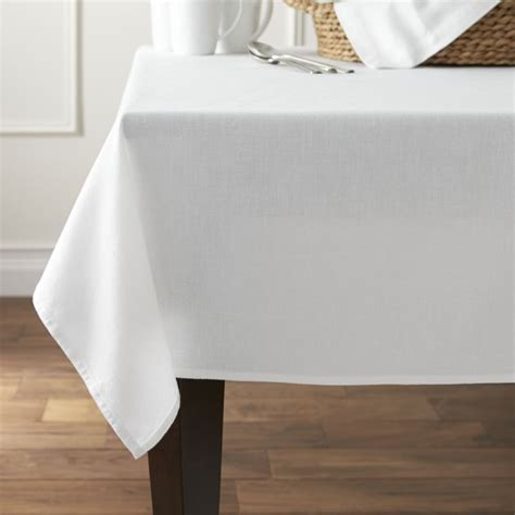 Dining Room Table Cloths by Abode Tablecloth Crate And Barrel