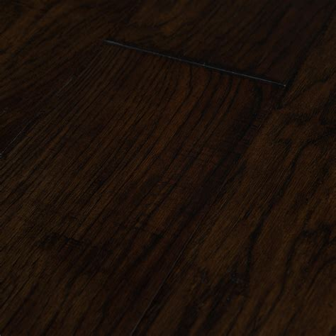 Hickory Dark Brown 6½? Engineered Hardwood Flooring
