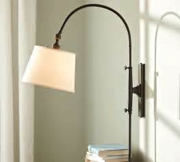 Pottery Barn Bathroom Mirrors by Adjustable Arc Sconce Modern Swing Arm Wall Lamps By