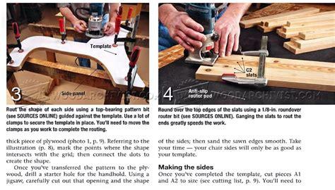 Slat Chair Plans by Outdoor Slat Chair Plans Woodarchivist