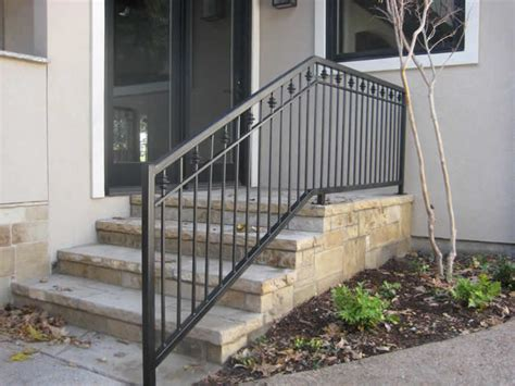 Wrought Iron Handrail Custom Wrought Iron Handrails Dallas Fort Worth