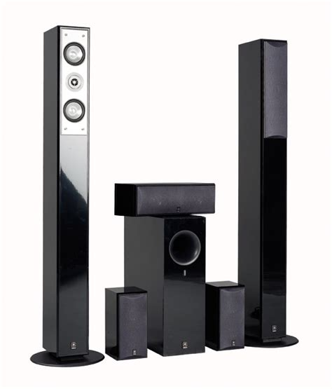 yamaha ns 210 floor standing centre bookshelf speakers