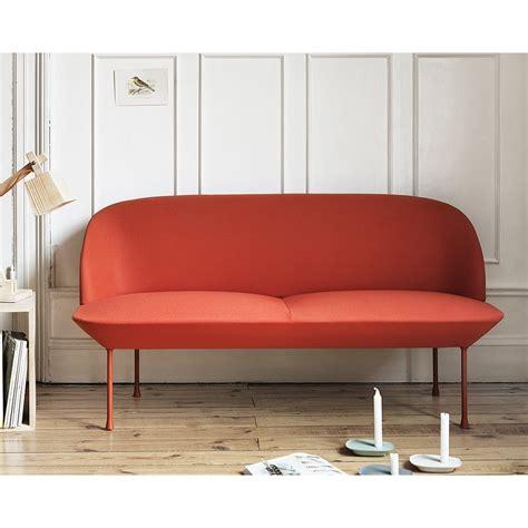 muuto sofa muuto oslo 2 seater sofa