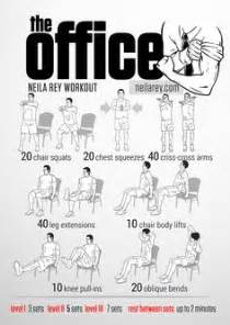 Office Chair Workout 1000 Ideas About Office Workouts On
