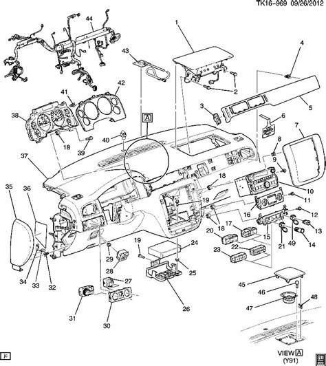 cadillac escalade parts diagram 07 13 silverado escalade 3 button assy traction