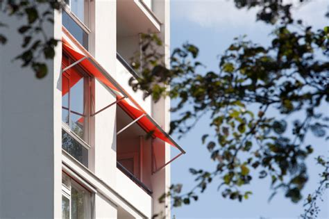 hängematte für den balkon idee holz balkon
