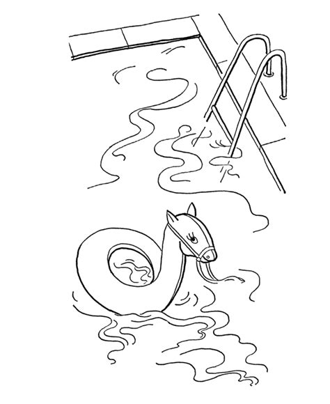 swimming pool coloring pages az coloring pages