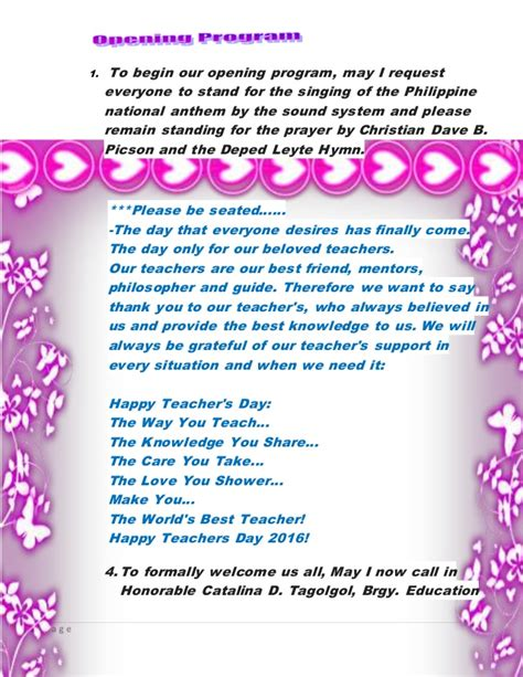 2 2 Mba Programs by Teachers Day Script 2016 Macunay