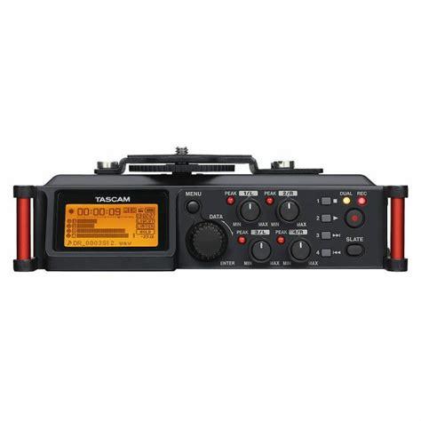 Tascam Dr 70d Professional Field Recorder tascam tascam dr 70d portable recorder for dslr cameras vinyl at juno records