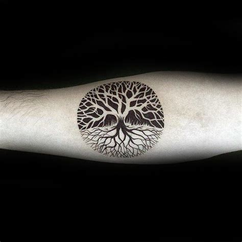 small tree of life tattoo 100 tree of designs for manly ink ideas