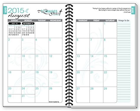 putting god 52 week planner books 2015 16 teal fish inspirational christian daily planner
