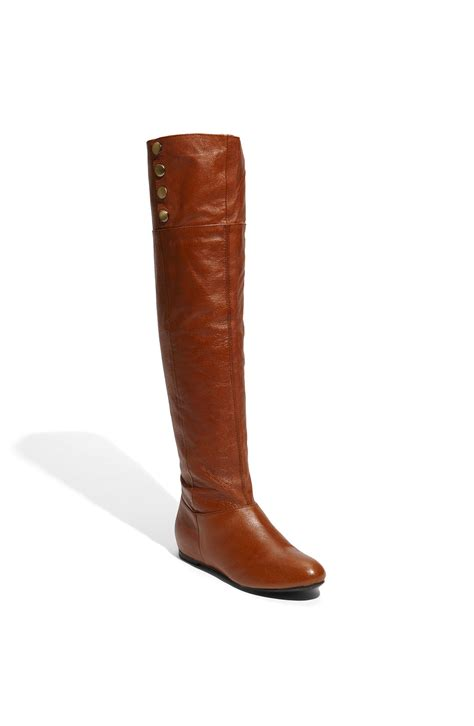 me boots laundry trust me the knee boot in brown