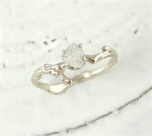 etsy wedding ring branch engagement ring by pointnopointstudio