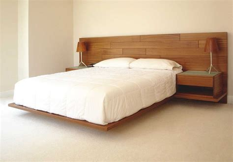 designer headboards for sale natural modern design of the floating platform beds for