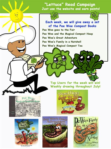 Healthy Giveaways - nourish interactive promotes compost to kids with summer giveaway