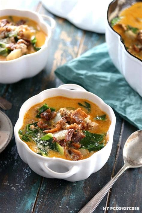 olive garden zuppa toscana nutrition low carb olive garden zuppa toscana my pcos kitchen
