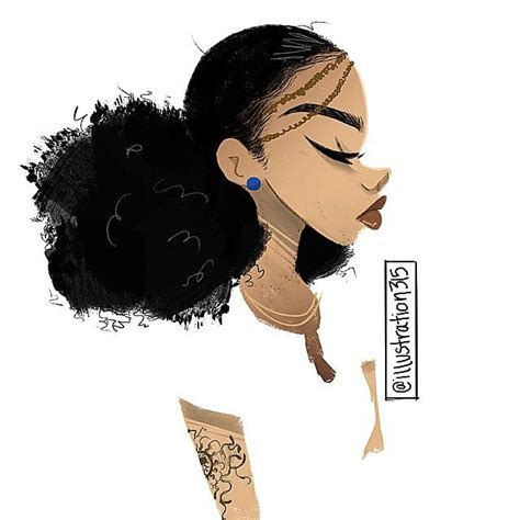 natural hairstyles cartoon 107 best illustration315 art images on pinterest black