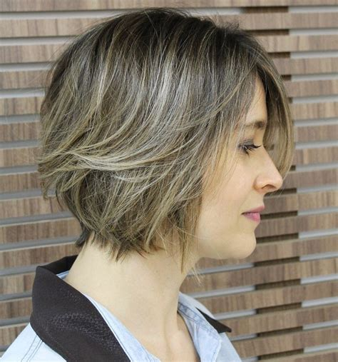 brown layerd bobs 70 winning looks with bob haircuts for fine hair
