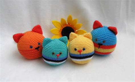 pattern for amigurumi ball kirju mirju k 228 sit 246 246 cat stressball free pattern