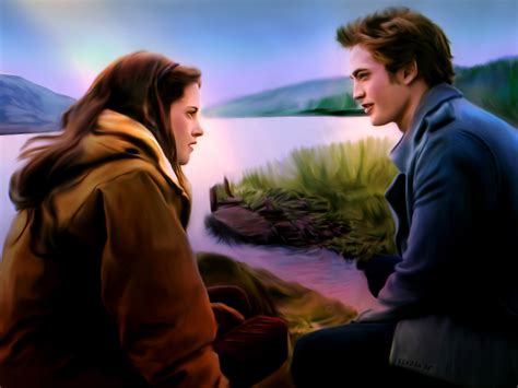 twilight couple hd wallpaper twilight is love again by kekoah coolvibe digital