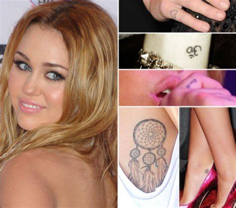 miley cyrus tattoo design 15 best miley cyrus tattoos amazing ideas