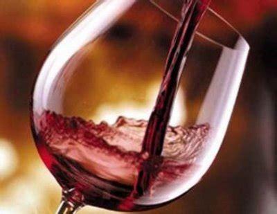 bicchieri vino rosso il vino