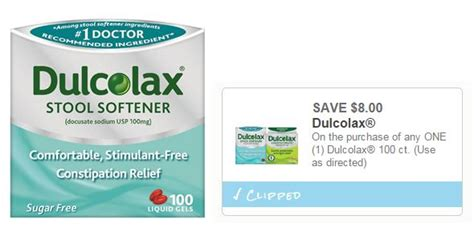Does Dulcolax Stool Softener Work by Target Dulcolax Stool Softener 100 Ct Only 3 19