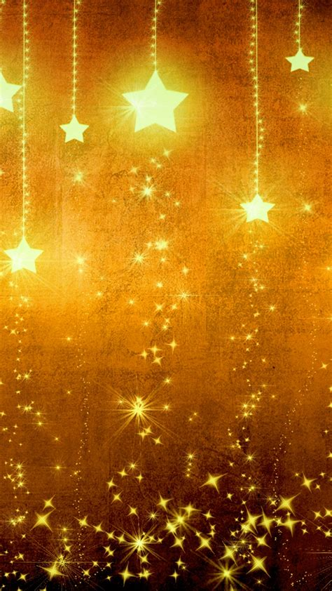 wallpaper gold stars star gold holiday background brown yellow light texture