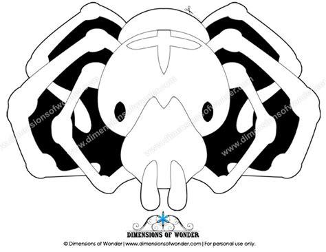 printable spider mask image gallery spider mask