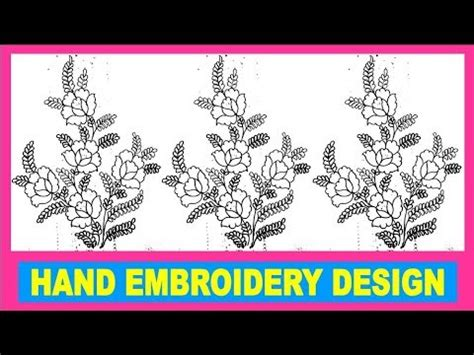Drawings 8 Embroidery Software by To Draw Embroidery Butta Design For Sharee And