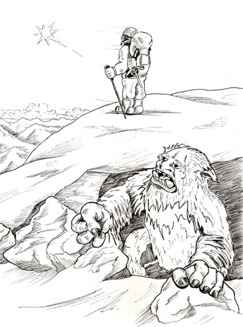 coloring pages abominable snowman abominable snowman coloring pages