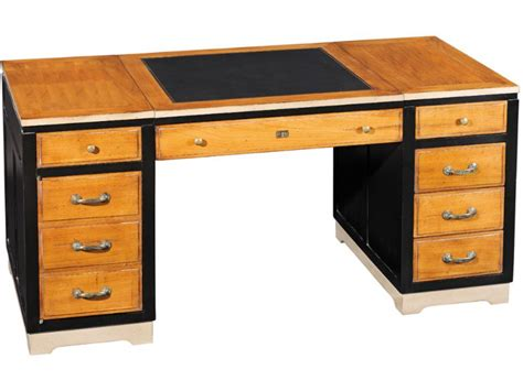 Large Desk With Drawers ateliers de grange large desk with 6 drawers longlands