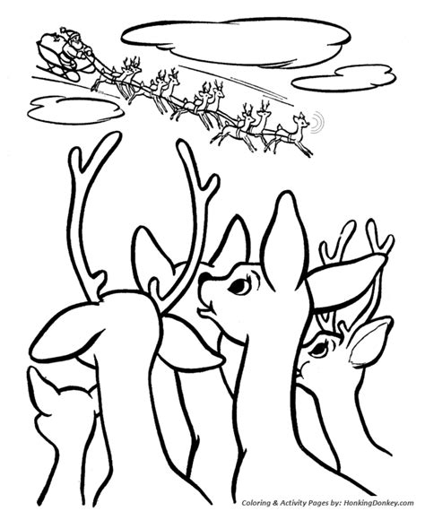 Free Coloring Pages Rudolph Rudolph Reindeer Coloring Pages by Free Coloring Pages Rudolph