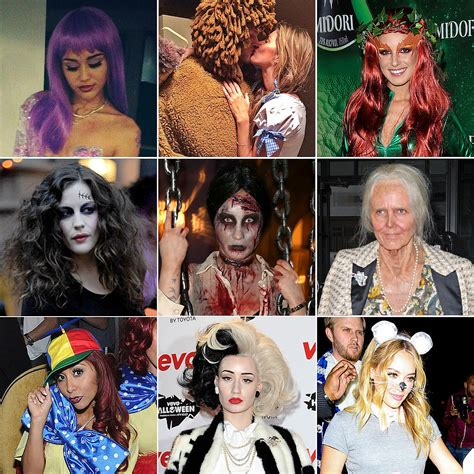 try one of these celeb inspired halloween costumes daily makeover celebrities wearing halloween costumes 2013 popsugar