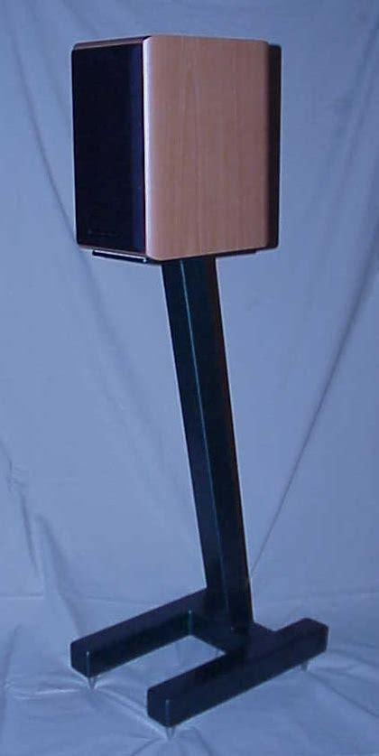 wood workspeaker stands plans   build  easy diy