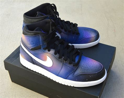 jordans sneakers custom nike 1 retro sneakers galaxy retro
