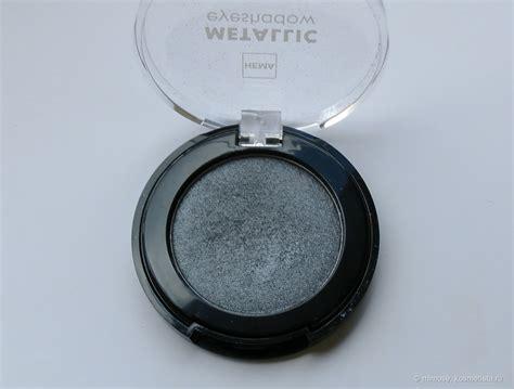 Eyeshadow Hema hema metallic eyeshadow 01 light grey и hema