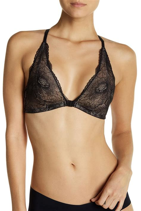 When Does Nordstrom Rack Get New Shipments by B Tempt D Provocative Lace Halter Bralette Lyst
