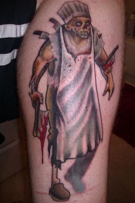 zombie chef tattoos tattoos tattoo tips and designs