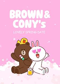 themes line brown brown cony s lovely spring date